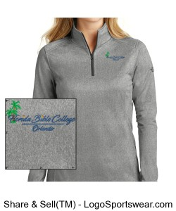 The North Face® Ladies Tech Fleece 1/4 Zip Fleece Pullover Design Zoom