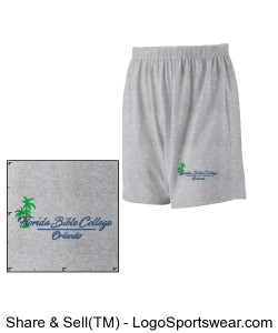Augusta Adult Jersey Knit Short  Design Zoom