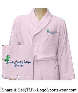 Florida Bible College Robe - Pink Design Zoom