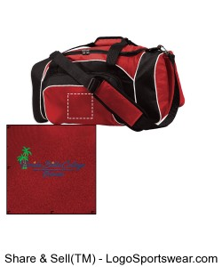Florida Bible College Duffle Bag - Red Design Zoom